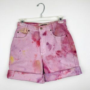 Vintage High Waisted Tie Dye Shorts 26